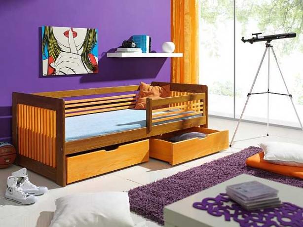 Bērnu istabas Bērnu gulta KLARA
