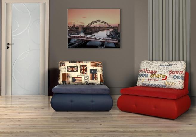 Mīkstās mēbeles Izvelkamais dīvāns MATI