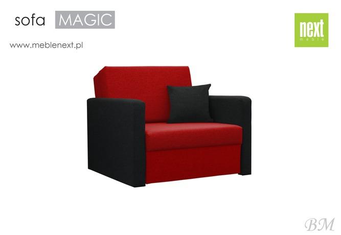 NEXT Mīkstās mēbeles Izvelkamais krēsls SOFA