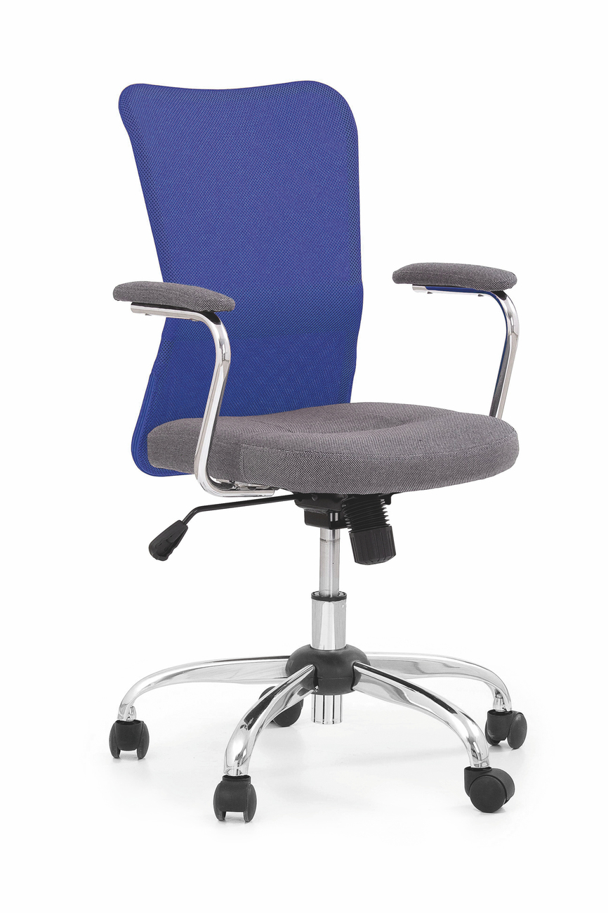 ANDY chair color: grey/blue