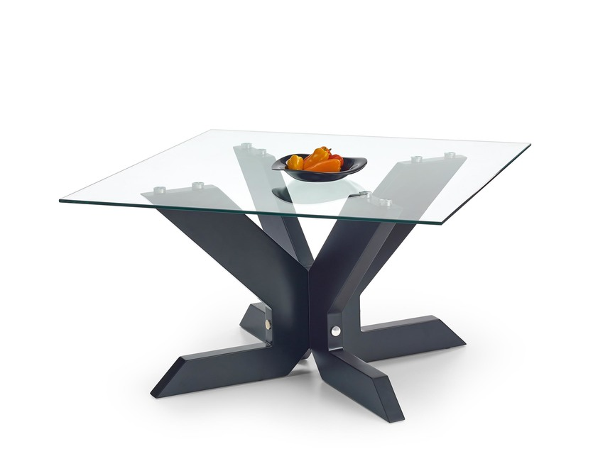 AISHA coffee table color: black