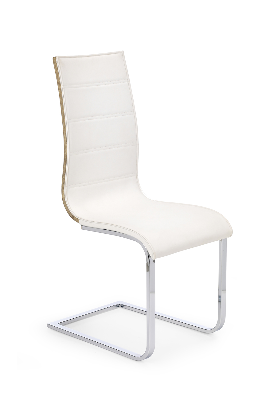 K104 chair color: white/sonoma