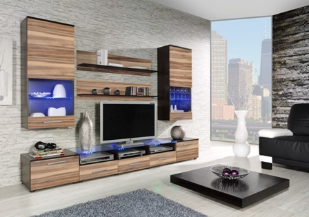 wall unit CAMA II wenge/baltimore nut