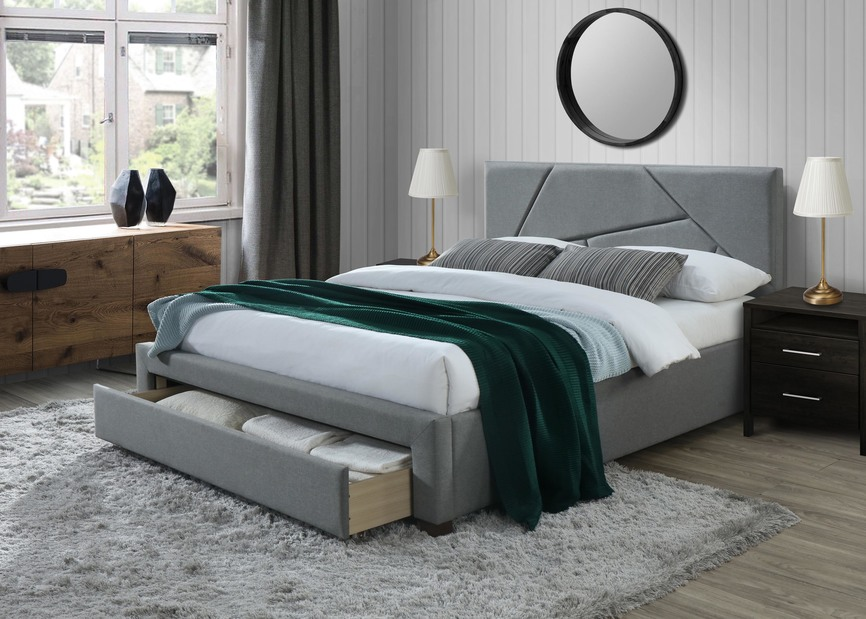 VALERY bed with drawer