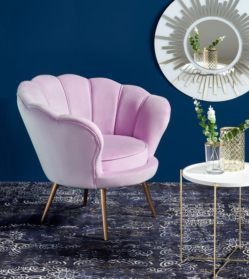 AMORINO l. chair, color: light pink