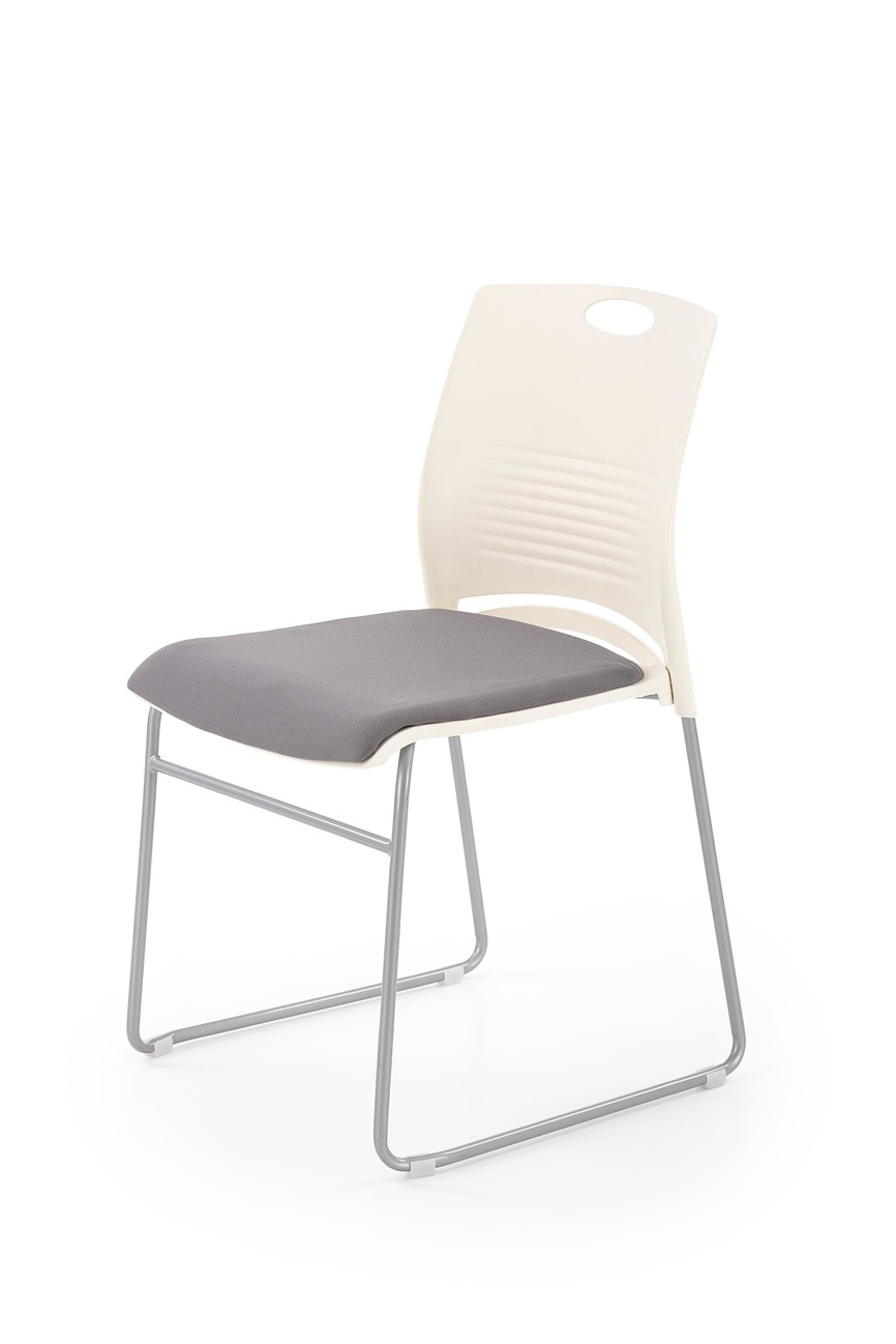 CALI chair, color: white / grey