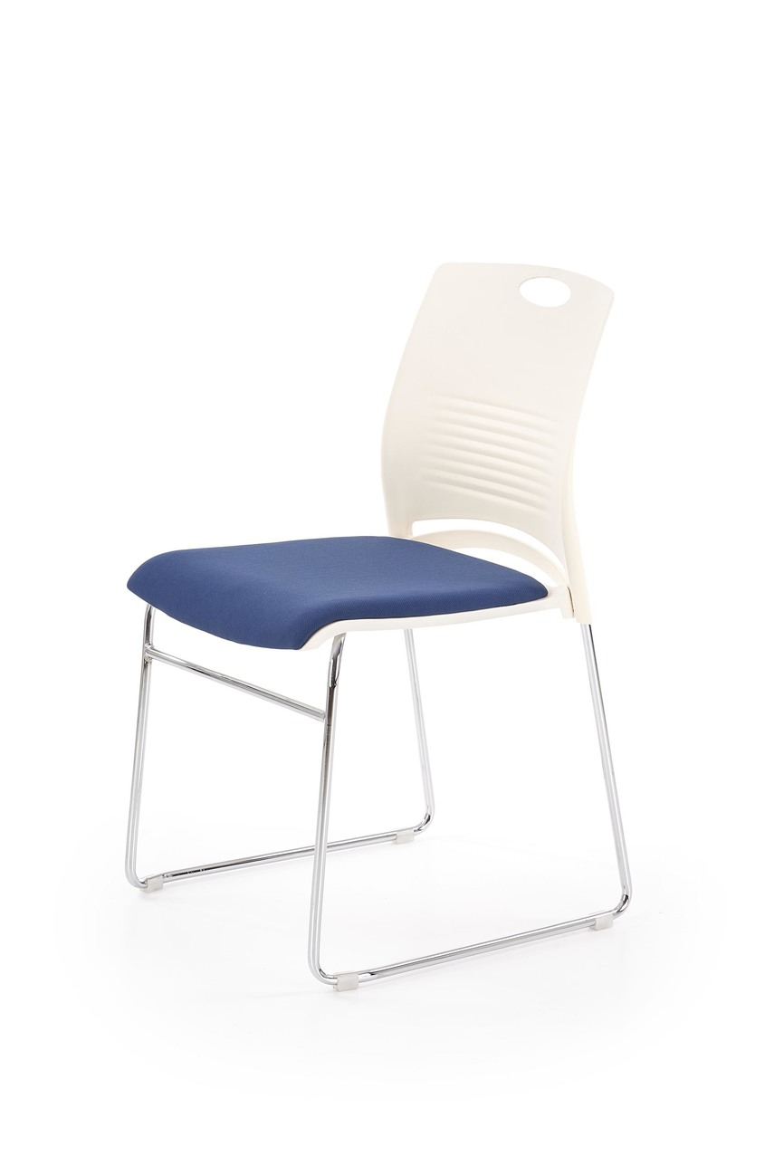 CALI chair, color: white / blue