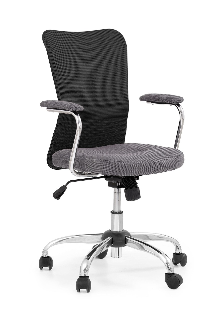 ANDY chair color: grey/black