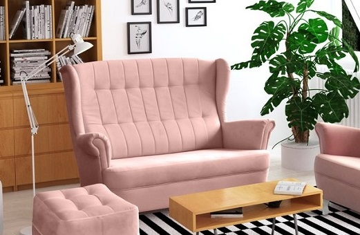 Sofa sets WINDSOR 2+1+pufs, 4 mēbeles - furniture store