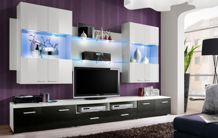 Sekcija Glossy Furniture 16