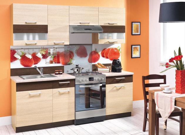 Kitchen sets modena 220 virtuve 4 m beles furniture store for Kitchen set modena